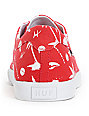 HUF Province Red Hawaii Canvas Skate Shoes