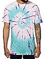 HUF Tie Dye Swirl Triangle T-Shirt