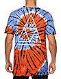 HUF Triple Triangle Tie Dye Swirl T-Shirt