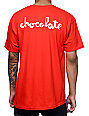 HUF x Chocolate Chunk Red T-Shirt