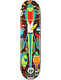 """Habitat x Charley Harper Monteverde Bamboo 8.0""""  Skateboard Deck"""