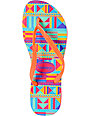 Havaianas Slim Graphic Tribal Print Flip Flop Sandals