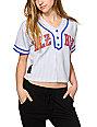 Hellz Bellz Allstar Crop Baseball Jersey