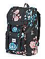 Herschel Supply Co. Little America Mid Pastel Petals 17L Backpack