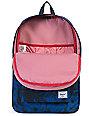 Herschel Supply Heritage Jungle Floral Blue 21.5L Backpack