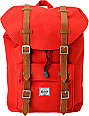 Herschel Supply Little America Mid-Volume Red Backpack