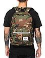 Herschel Supply Pop Quiz Woodland Camo Backpack