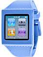 Hex iPod Nano Blue Watch Band
