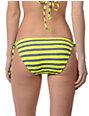 Hobie Tik Tok Yellow Side Tie Bikini Bottom