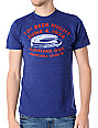 Homage 10 Cent Beer Night Heather Blue T-Shirt