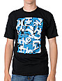 Hurley 3-Squared Mens Black T-Shirt