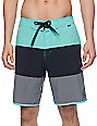 "Hurley Beachside Northcliff Obsidian 18.5""  Board Shorts"
