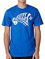 Hurley Horror Blue T-Shirt