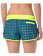 Hurley Houndstooth Supersuede Retro Aqua Board Shorts