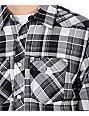 Hurley Houstin Black Woven Shirt
