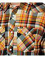 Hurley Houstin Olive Woven Shirt
