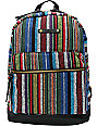 Hurley Market Stripe Backpack
