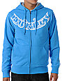 Hurley Moke Neptune Blue Sherpa Hoodie