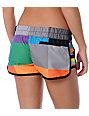 Hurley Pink Geo Super Suede Beachrider Board Shorts