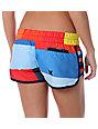 Hurley Red Geo Super Suede Beachrider Board Shorts