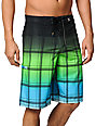 Hurley Sands Phantom Green & Blue 21 Board Shorts