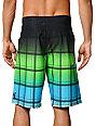 Hurley Sands Phantom Green & Blue 21 Board Shorts
