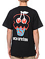 ICECREAM Cherry Cone Black T-Shirt