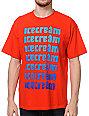 ICECREAM Classic Repeat Red T-Shirt