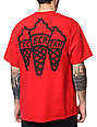 ICECREAM Multi Cone Red T-Shirt