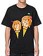 ICECREAM Tiger Cone Black T-Shirt