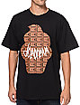 ICECREAM Wafflecone Black & Chocolate T-Shirt