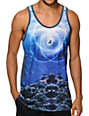 Imaginary Foundation Aquatic Symbol Tank Top