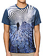 Imaginary Foundation Attractor Panel Blue Sublimated T-Shirt