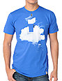Imaginary Foundation Cloud Construction Blue T-Shirt