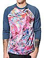 Imaginary Foundation Pigment Sublimated Baseball T-Shirt