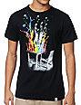 Imaginary Foundation Plunge Black T-Shirt
