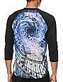 Imaginary Foundation Spiral Sublimated Baseball T-Shirt