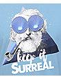 Imaginary Foundation Surreal Harbor Blue T-Shirt