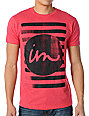 Imperial Motion Cut And Paste Heather Red T-Shirt