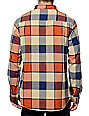 Imperial Motion Hanson Orange Flannel Shirt