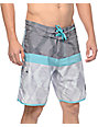 Imperial Motion Hayworth Mix Mint Board Shorts