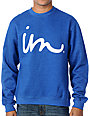 Imperial Motion The Curser Blue Pullover Sweatshirt