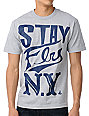 Indek Ink Stay Fly NY Grey T-Shirt