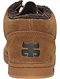 Ipath Cat Chocolate Brown Suede Shearling Skate Shoe
