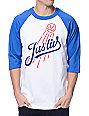 JSLV Tommy Blue & White Baseball T-Shirt