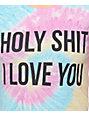 JV By Jac Vanek Love You Tie Dye T-Shirt