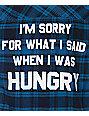 JV By Jac Vanek Sorry Teal & Black Flannel Shirt