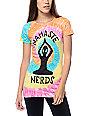 JV by Jac Vanek Namaste Nerds Tie Dye T-Shirt
