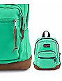 Jansport Right Pouch Seafoam Green .05L Mini Backpack