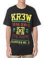 KR3W Charter Black T-Shirt